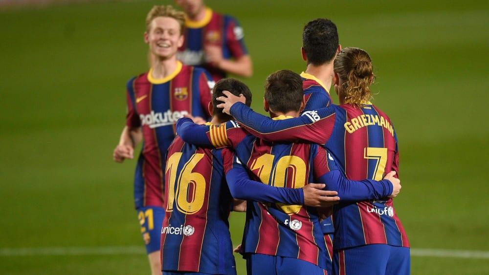 Messi & Co. tuvo un motivo para animar en la victoria por 5-2 sobre el Getafe.