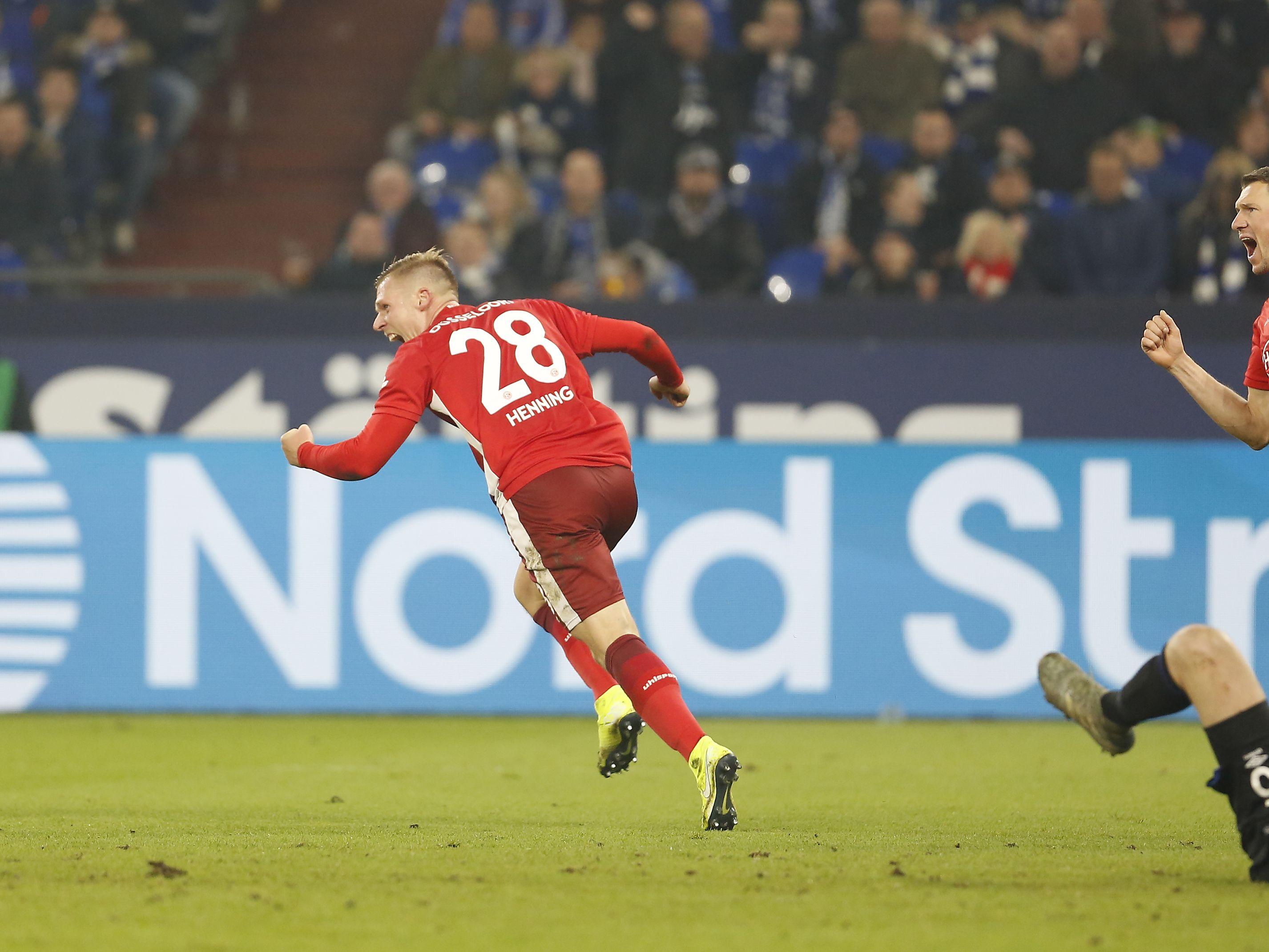 Dreierpack auf Schalke: Rouwen Hennings (l.).
