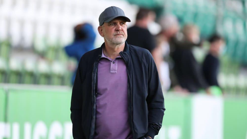 Erlebte mit den Wolfsburgern einen unglücklichen Saisonstart in Münster: VfL-Geschäftsführer Jörg Schmadtke.