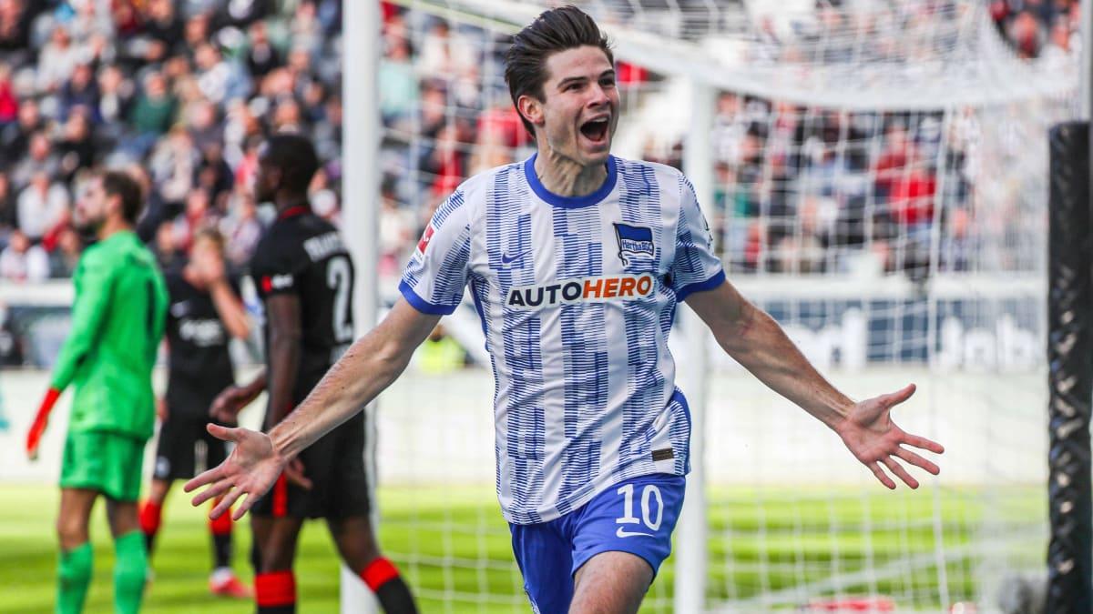 Ekkelenkamp sticht sofort: Hertha BSC fährt wichtigen Erfolg in Frankfurt ein