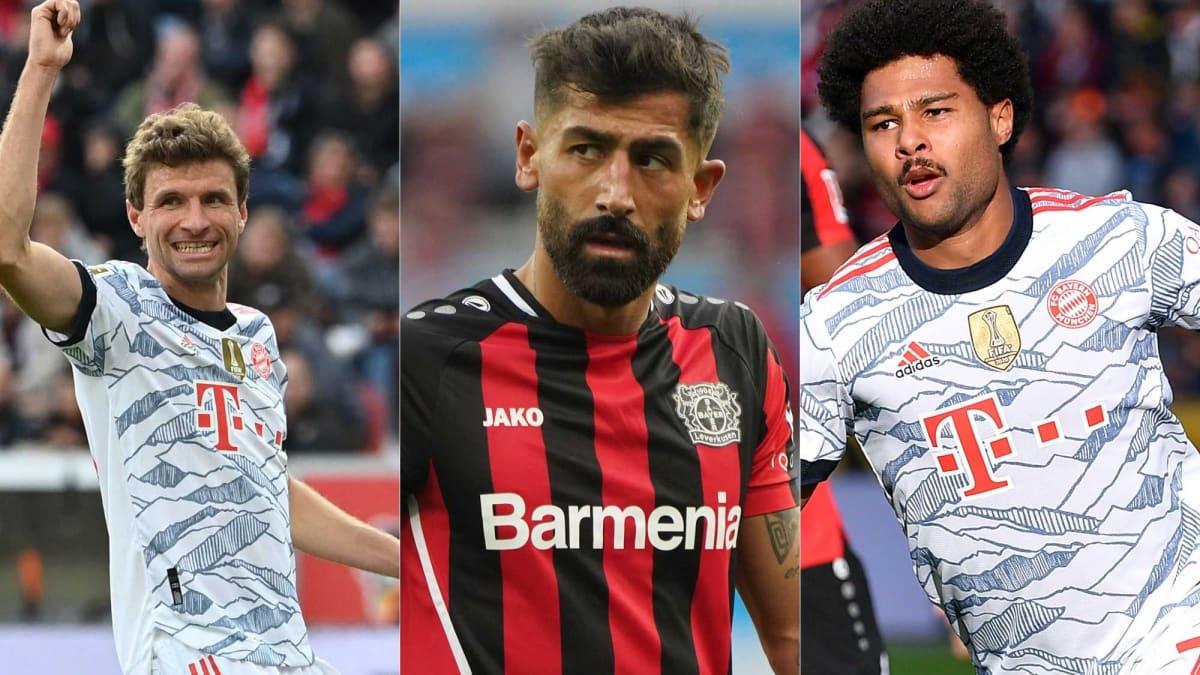 Die Noten zum Topspiel zwischen Leverkusen und Bayern