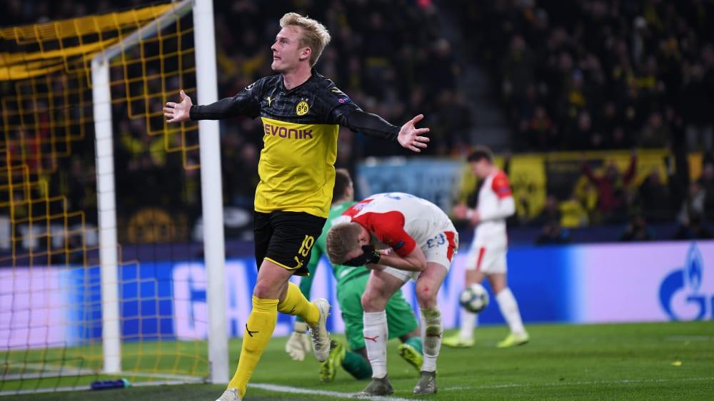 Borussia Dortmund Brandt Man Sieht Dass Wir Gut Zocken Konnen Kicker