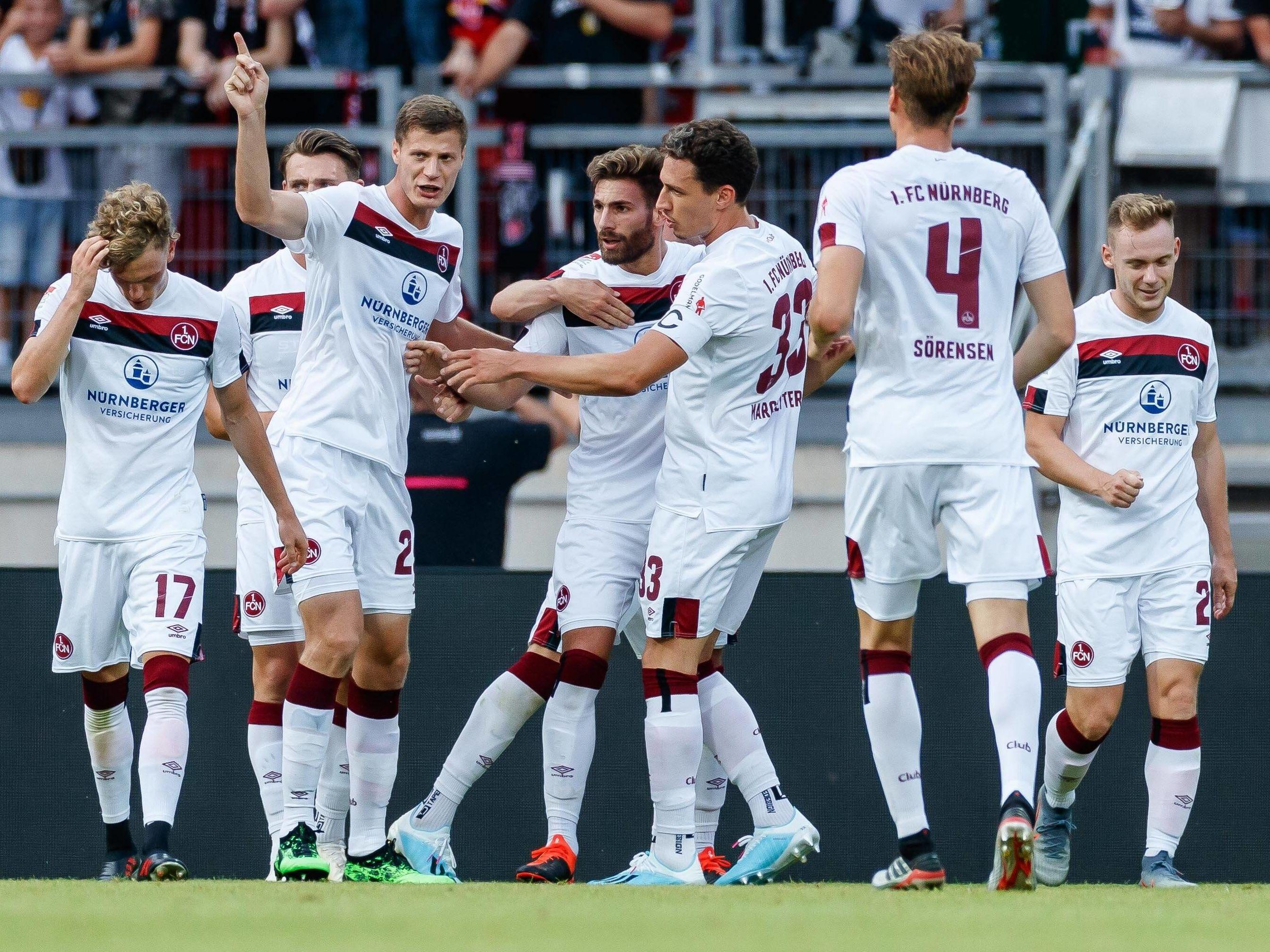 Jubel beim 1. FC Nürnberg
