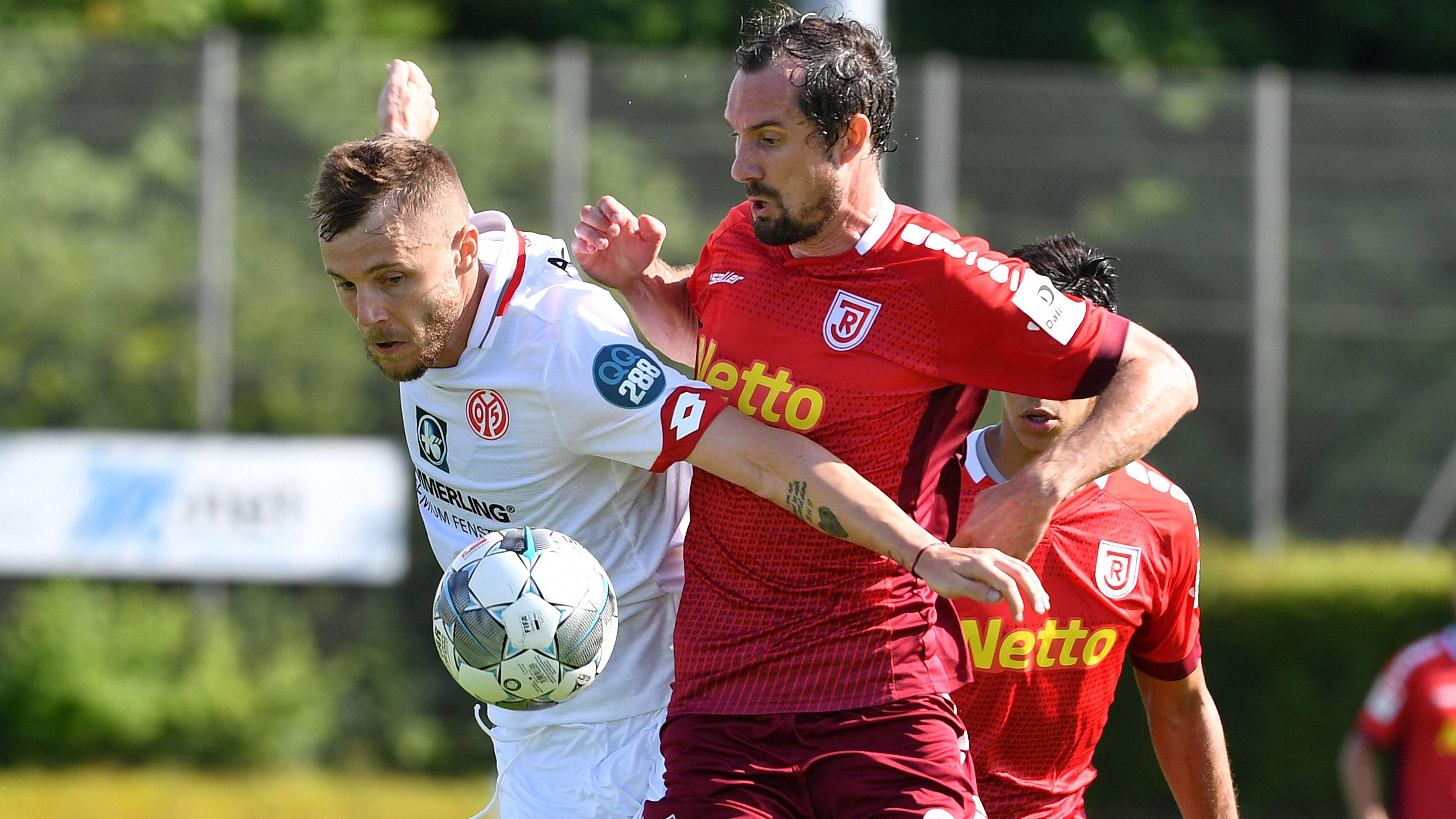 Spielbericht   Jahn Regensburg - 1. FSV Mainz 05 2:1   KW 29 2019   Fußball-Vereine Freundschaftsspiele 2019/20 - kicker