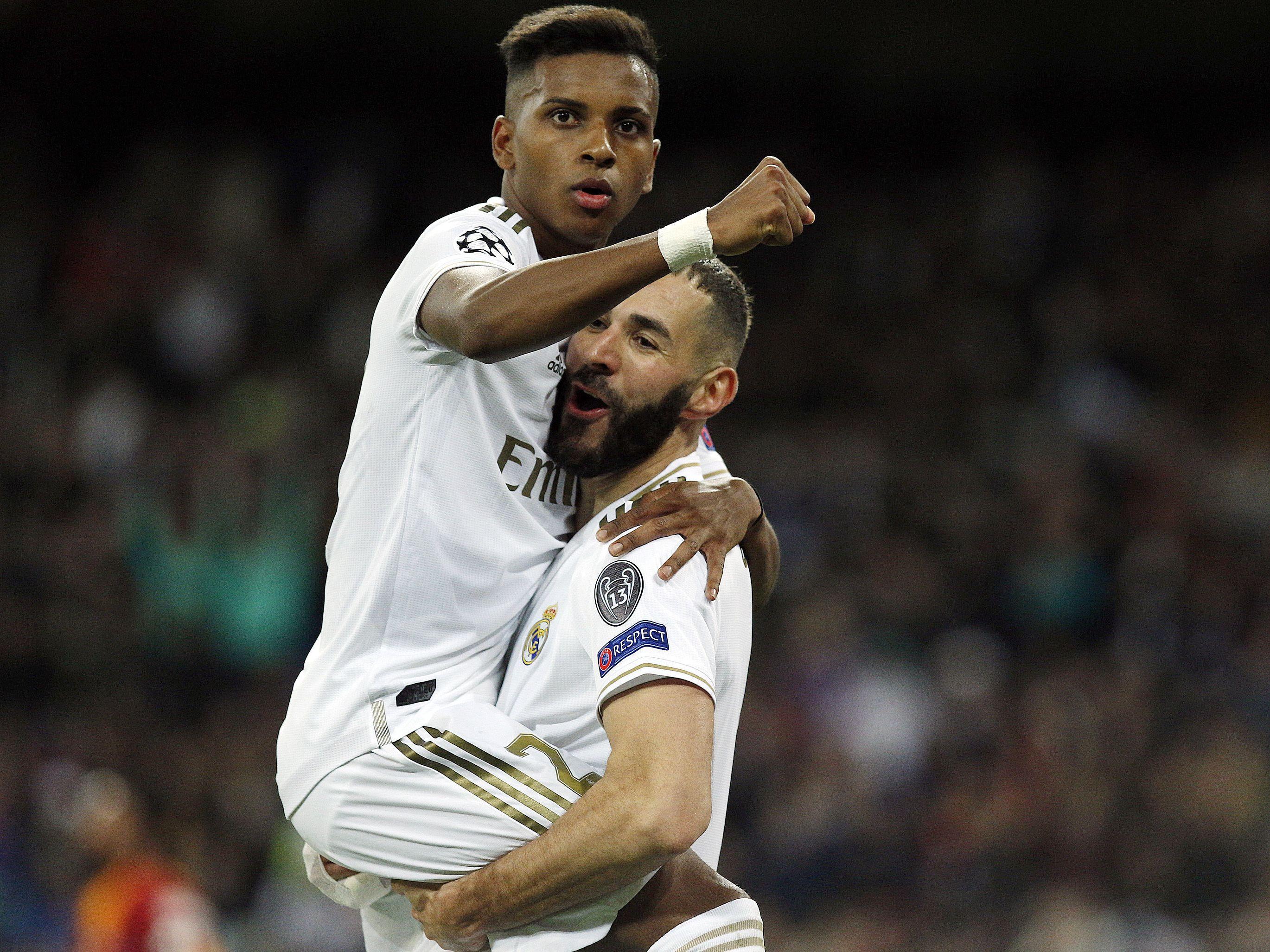 Das Zusammenspiel zwischen Rodrygo und Karim Benzema funktionierte sehr gut.