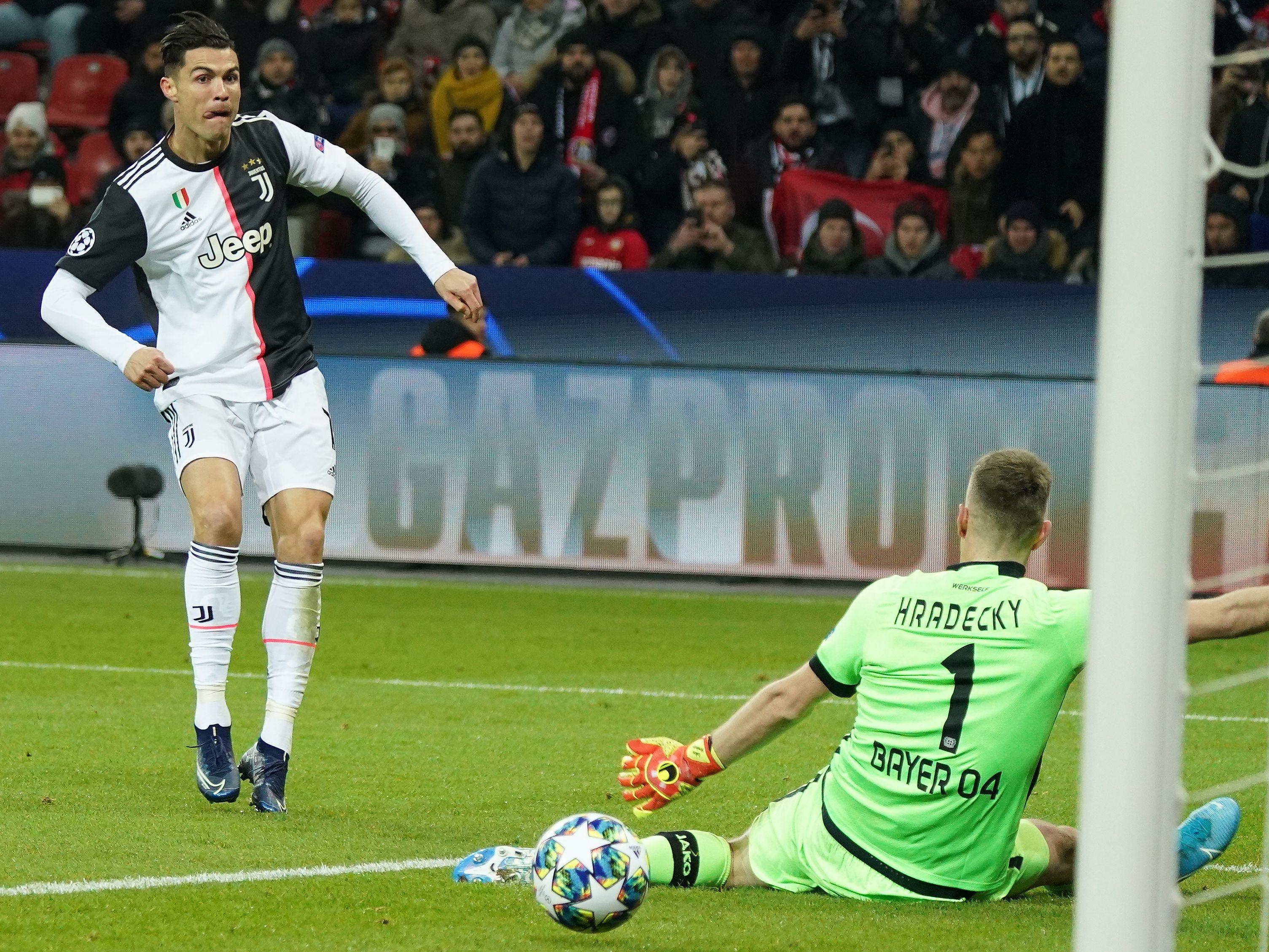 Cristiano Ronaldo ist Spieler von Juventus.