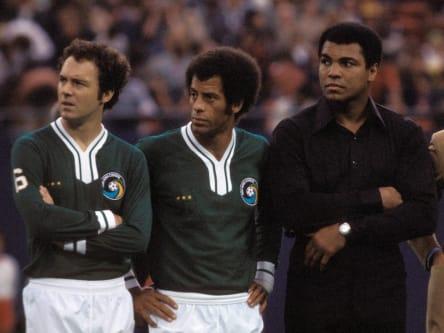 Franz Beckenbauer, Carlos Alberto, Muhammad Ali