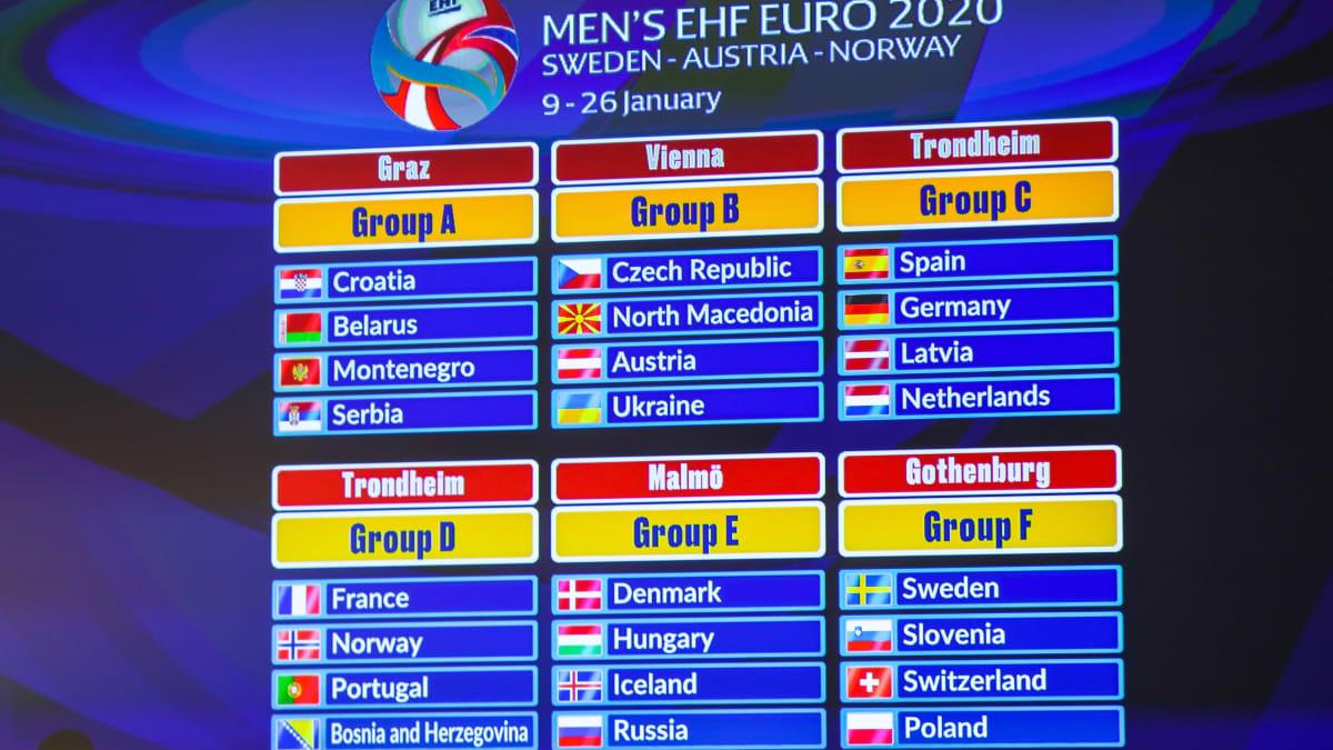 Handball-EM 2020: Termine, Spielplan, Modus der Europameisterschaft - Wissenswertes zum Handball-EM-Turnier in Schweden, Norwegen und Österreich
