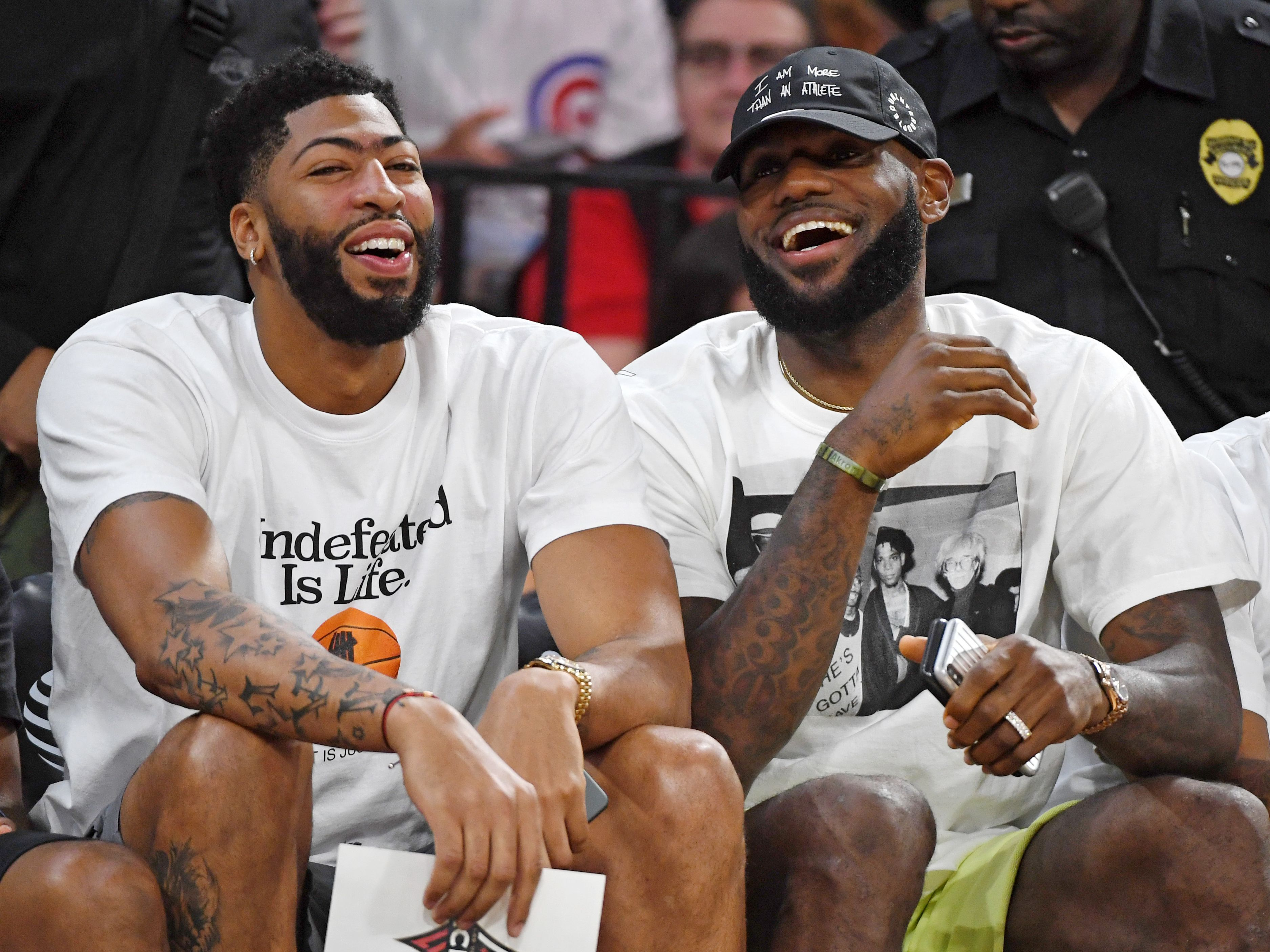 Anthony Davis und LeBron James
