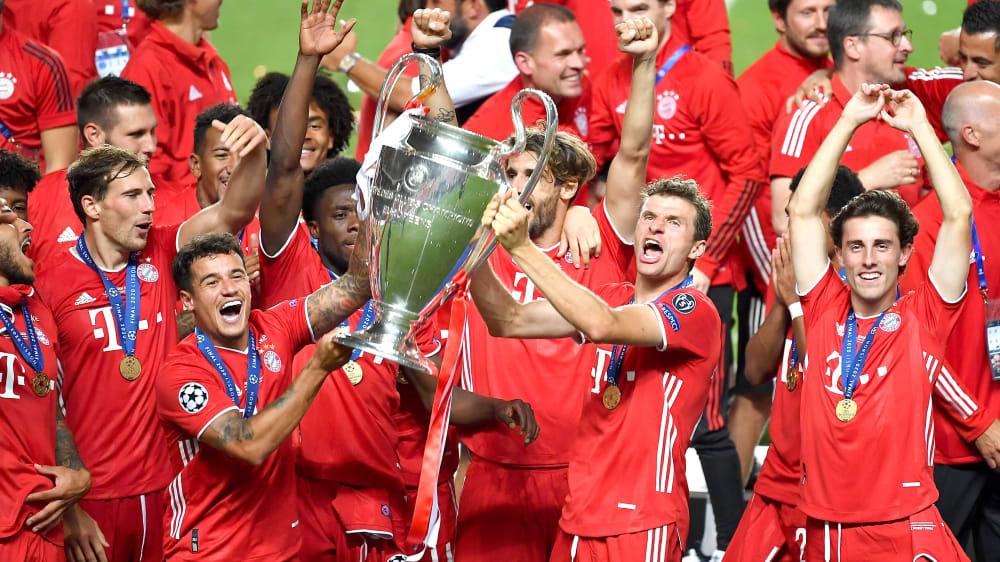 Fc Bayern Champions League Siege