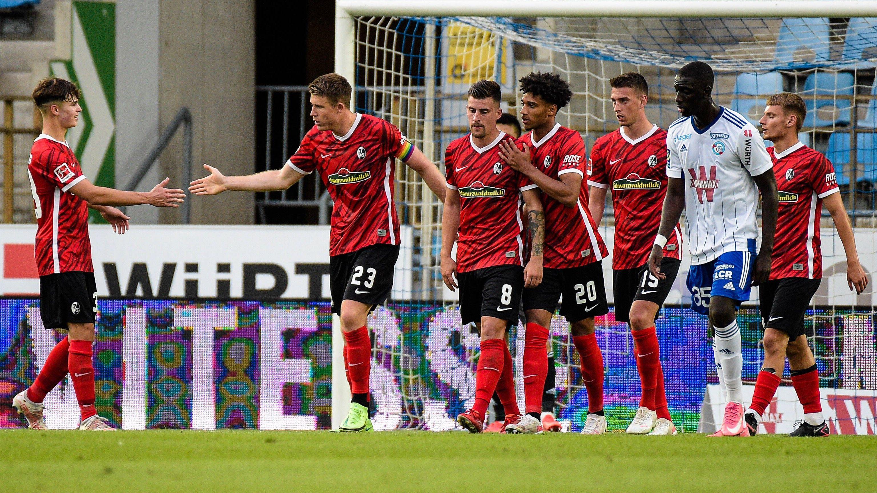 Matchwinner Heintz: Freiburg gewinnt zweites Spiel gegen Straßburg