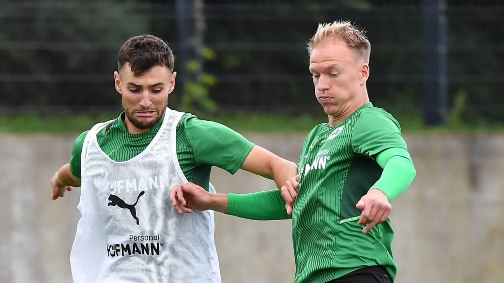 Bauer returns; Nielsen still missing Fürth