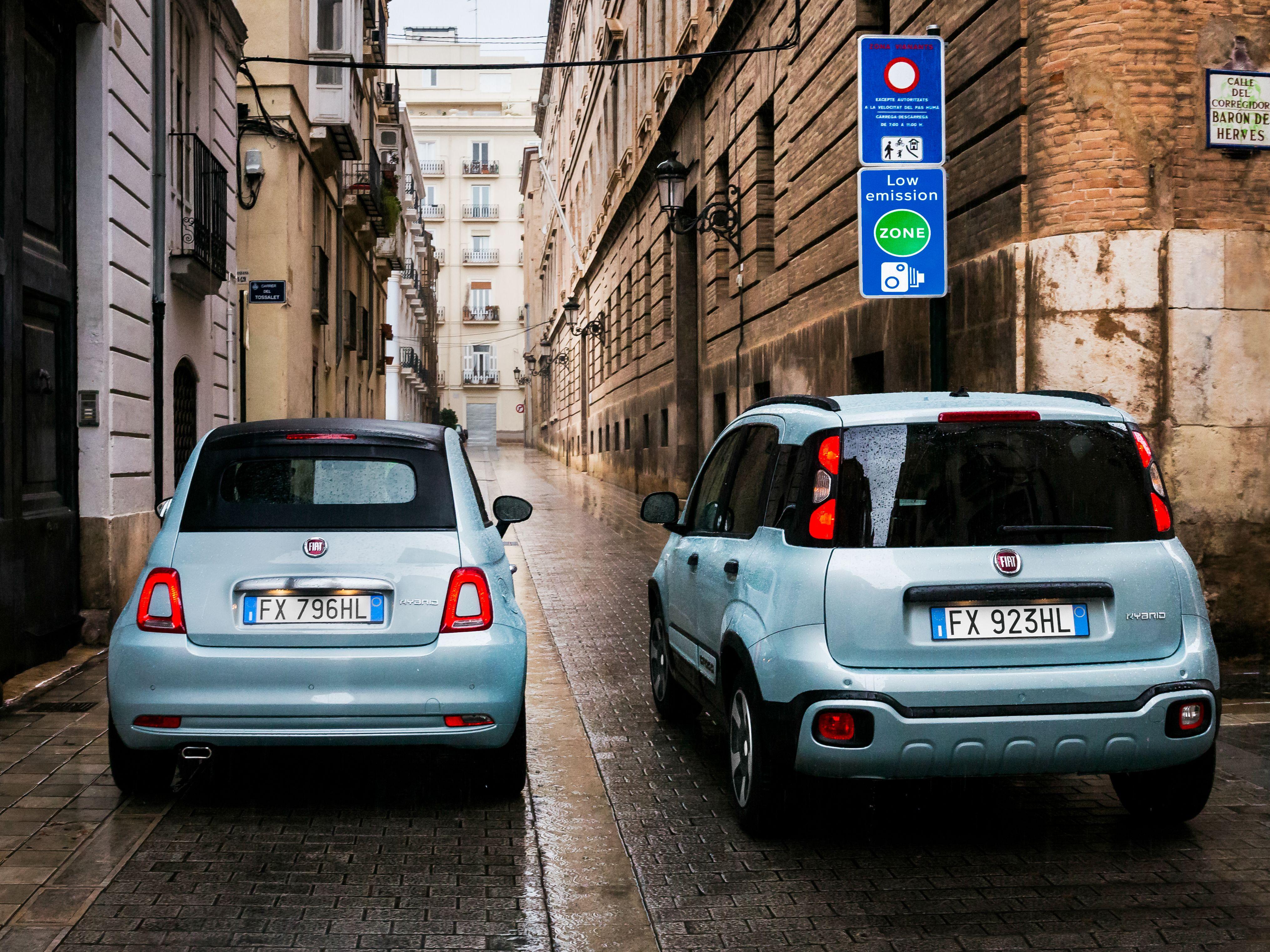 Fiat 500, Panda Hybrid