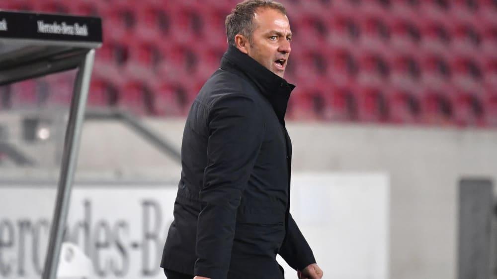 Kitzelt seine Mannschaft vor dem Topspiel gegen Leipzig: Bayern-Trainer Hansi Flick.