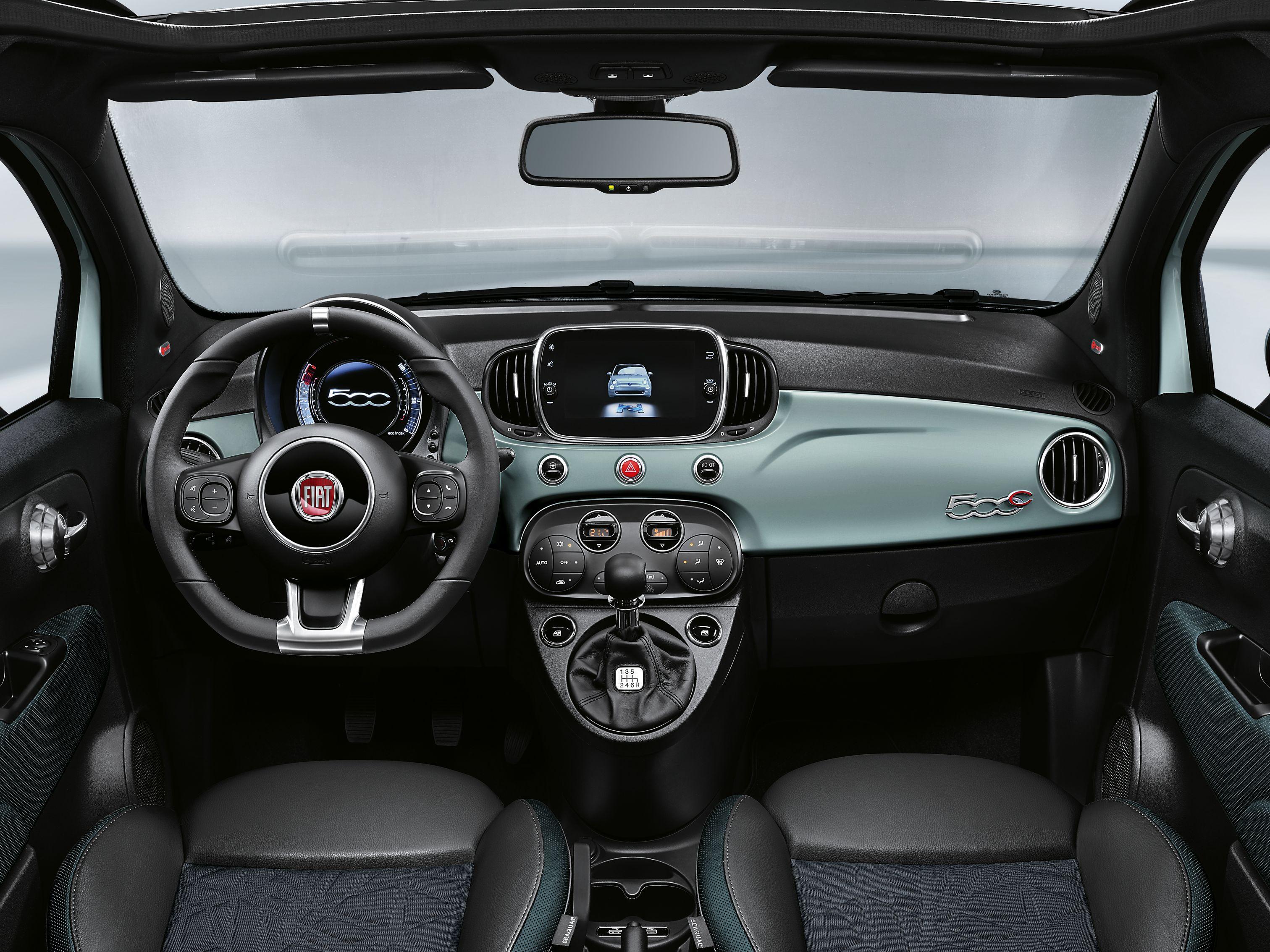 Fiat 500 Cockpit