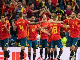 Jubel bei den Spaniern