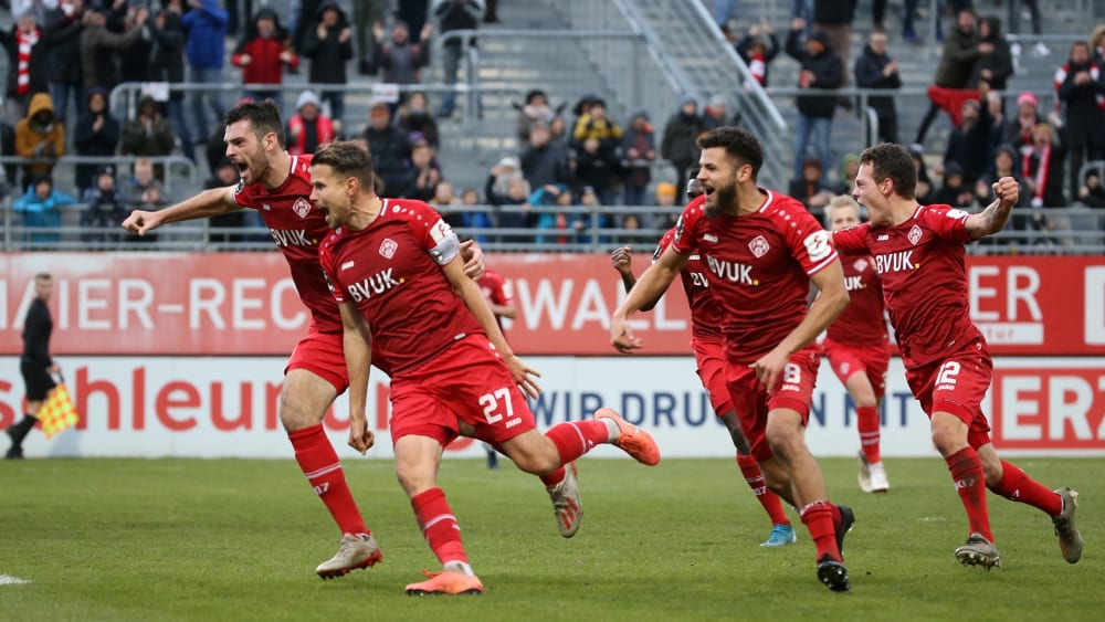 Spiel Würzburger Kickers