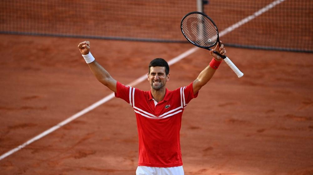 Zum zweiten Mal Sieger in Paris: Novak Djokovic.