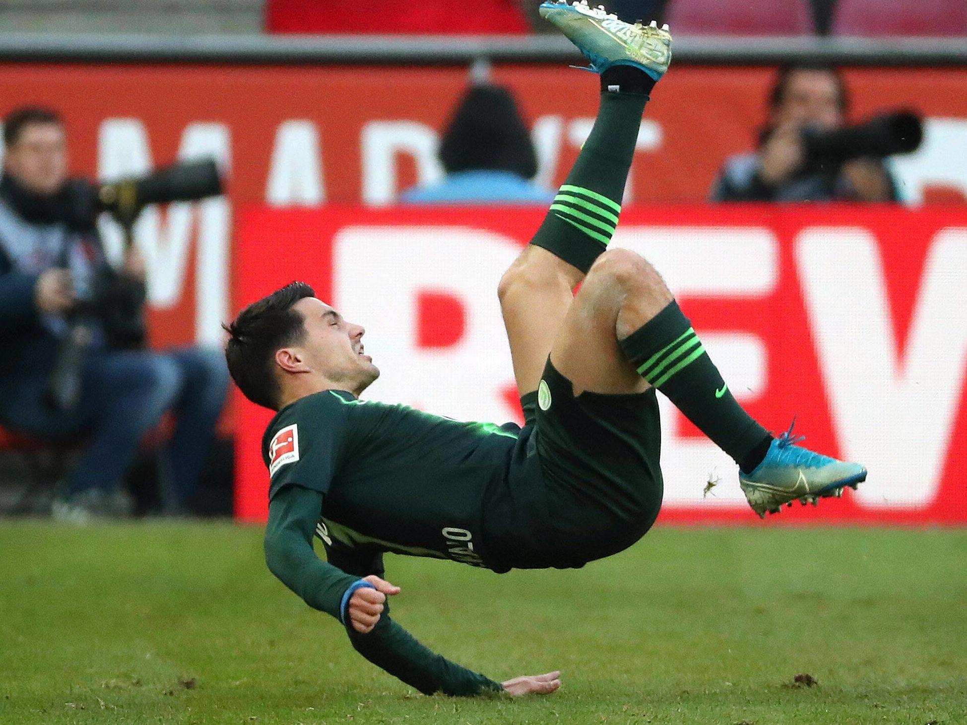 Josip Brekalo ist Fußballprofi beim VfL Wolfsburg.