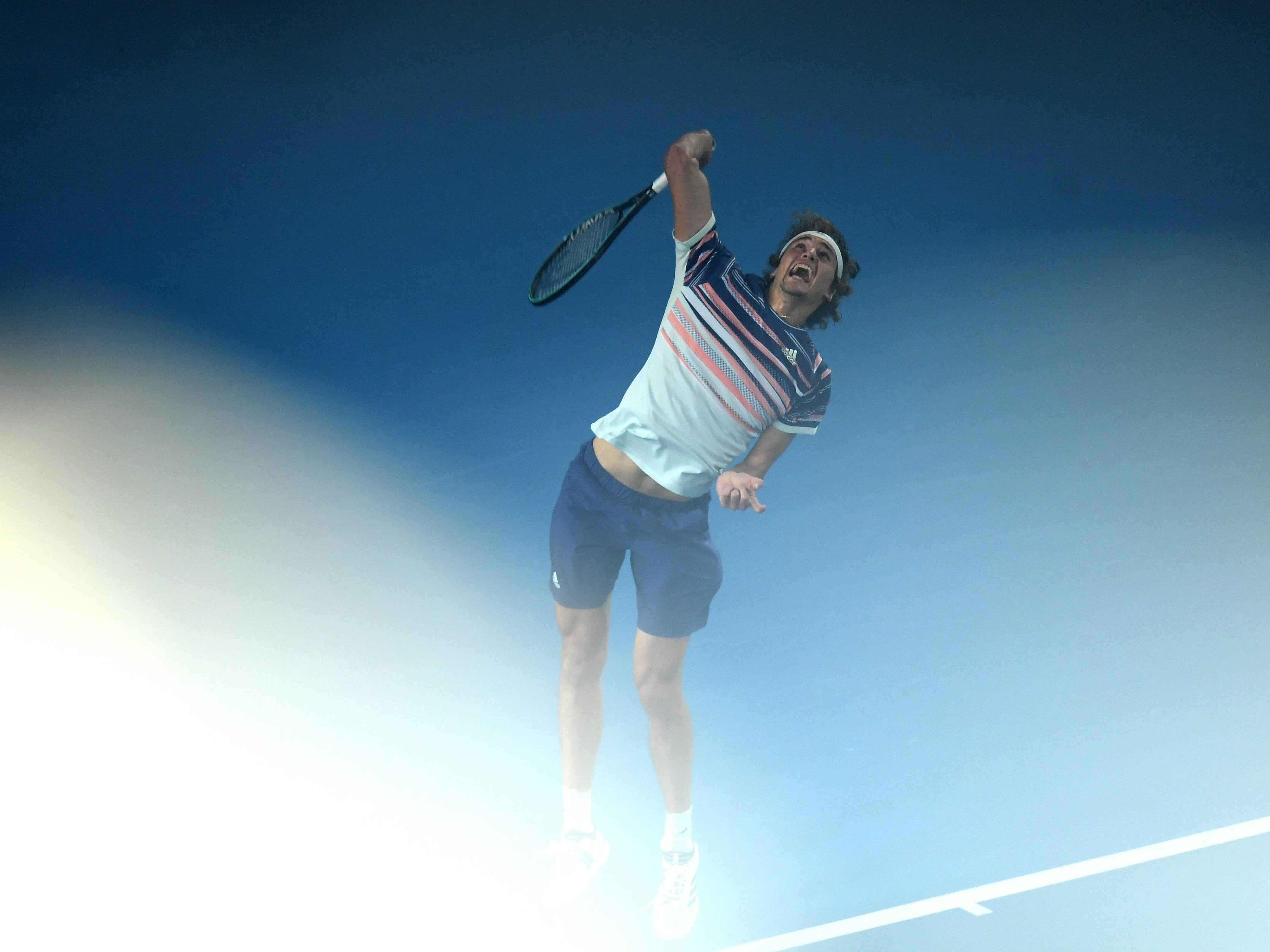 Alexander Zverev ist ein Tennisspieler aus Deutschland.