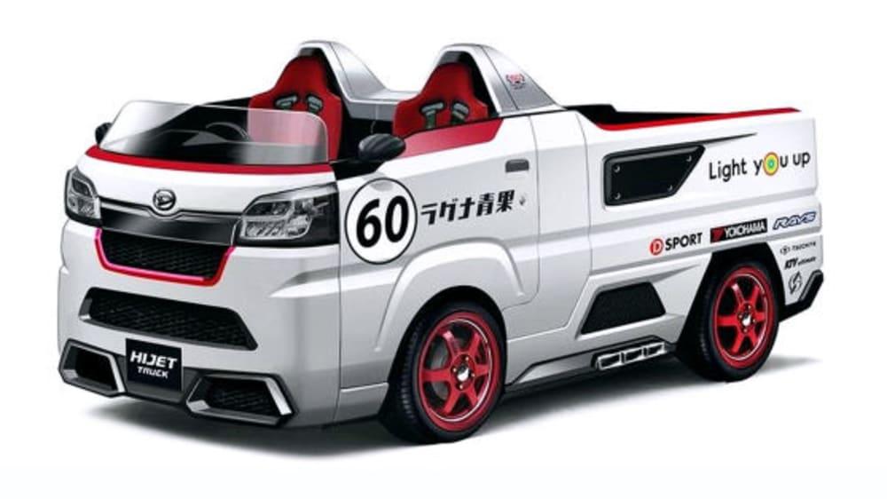 Sportlicher Pick-up: Der Daihatsu Copen Spyder Ver ist ein offener Zweisitzer mit Ladefläche.