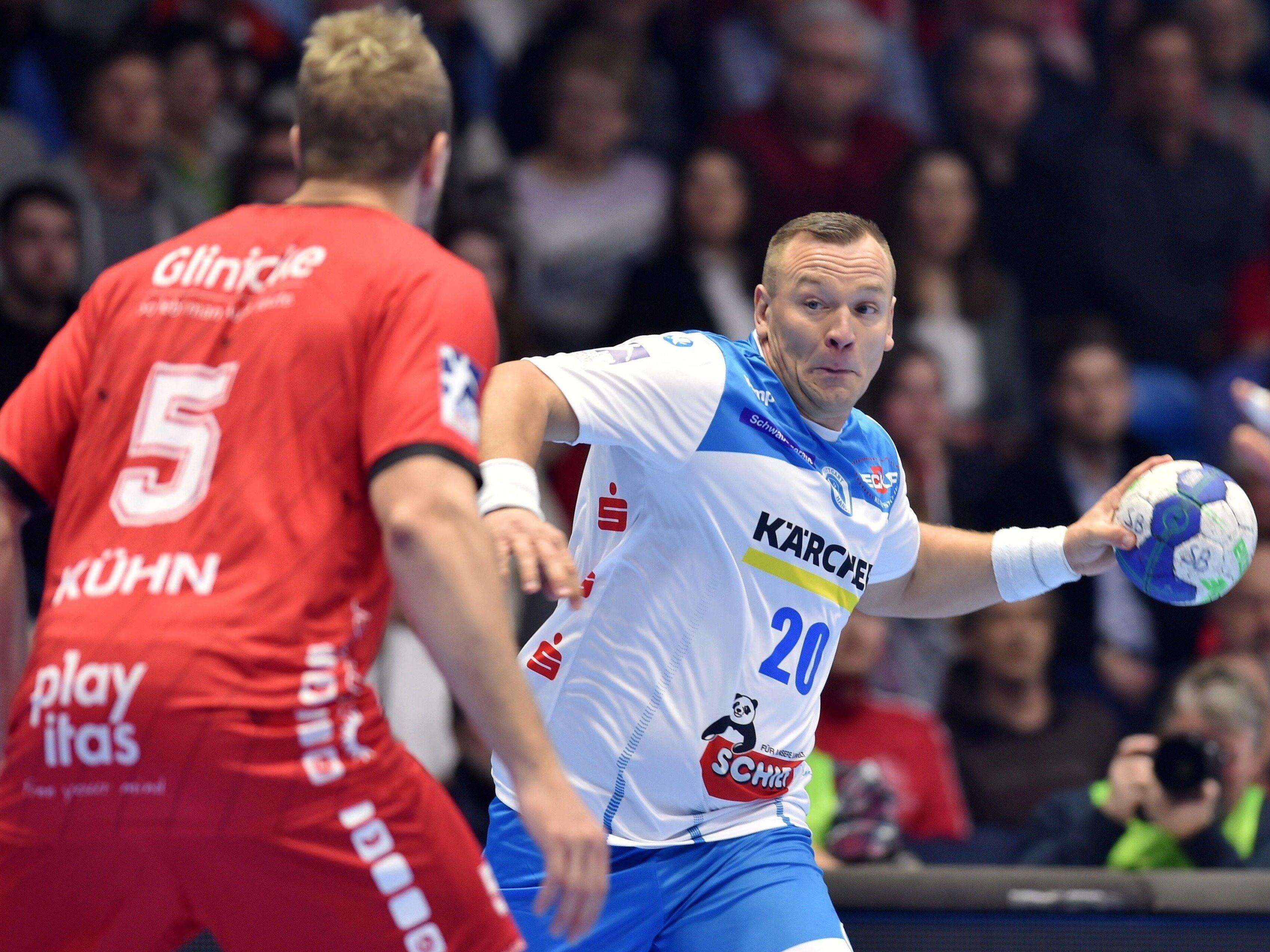 Christian Zeitz gegen Nationalspieler Julius Kühn