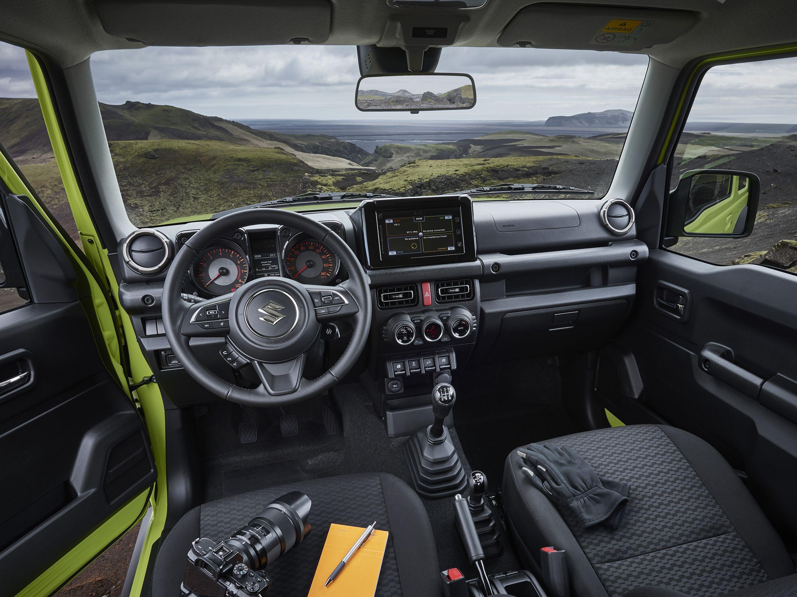 Suzuki Jimny Innenraum