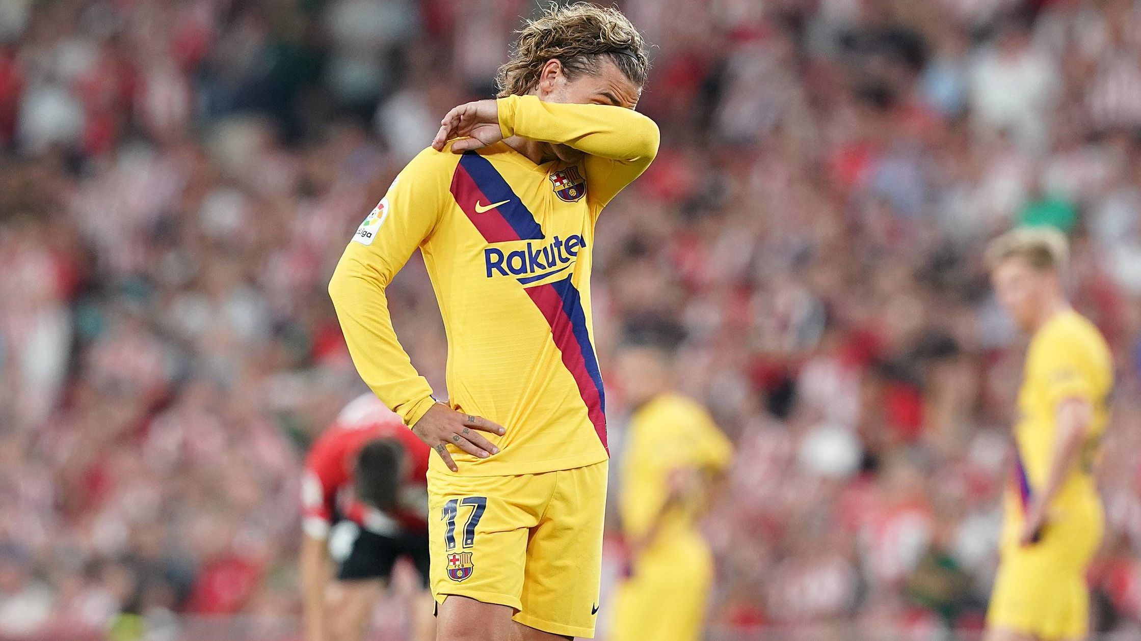 Barcelonas verpatzter Auftakt: Kritik und Spott für Griezmann & Co. - kicker