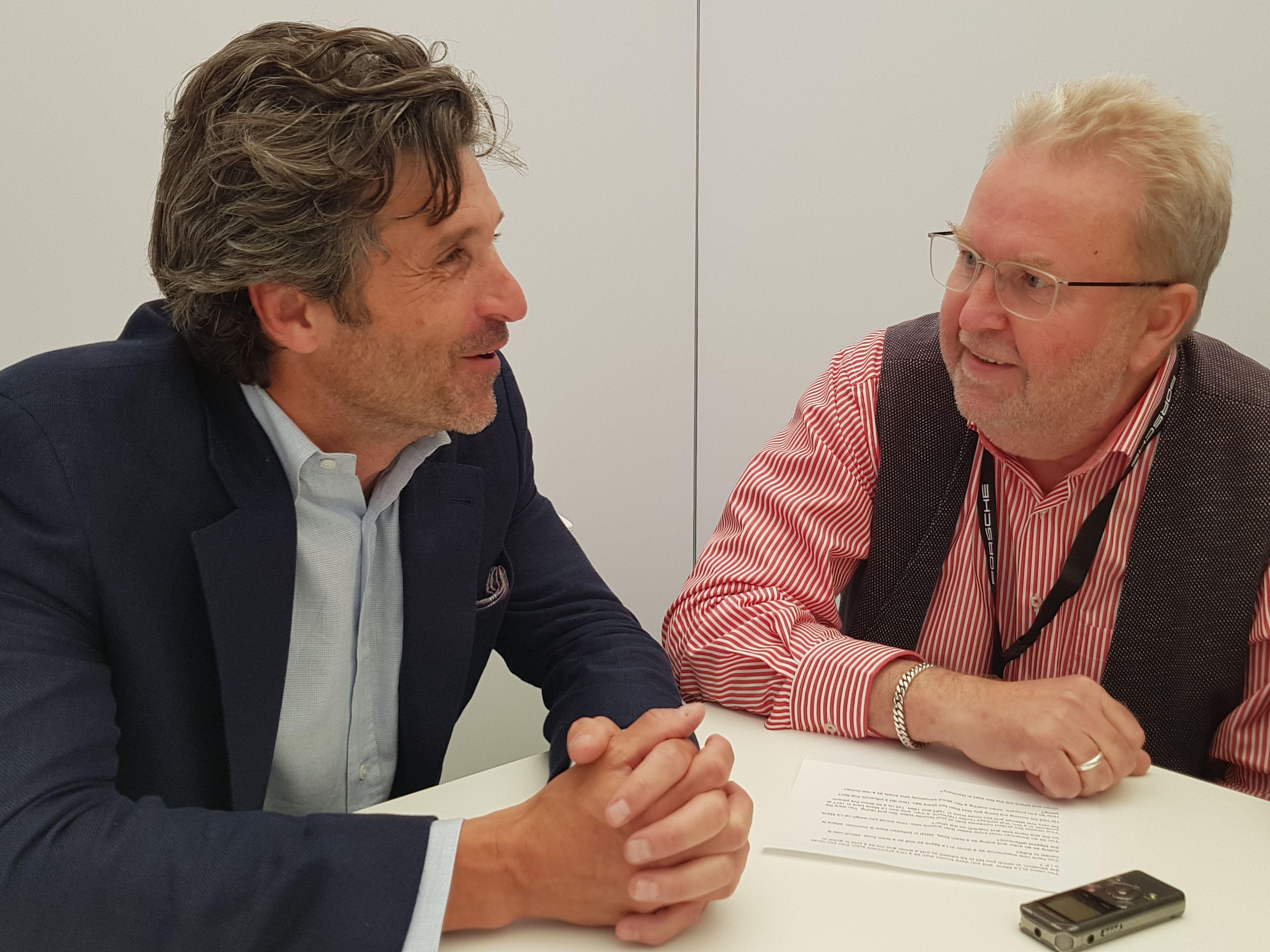Patrick Dempsey, Stefan Bomhard