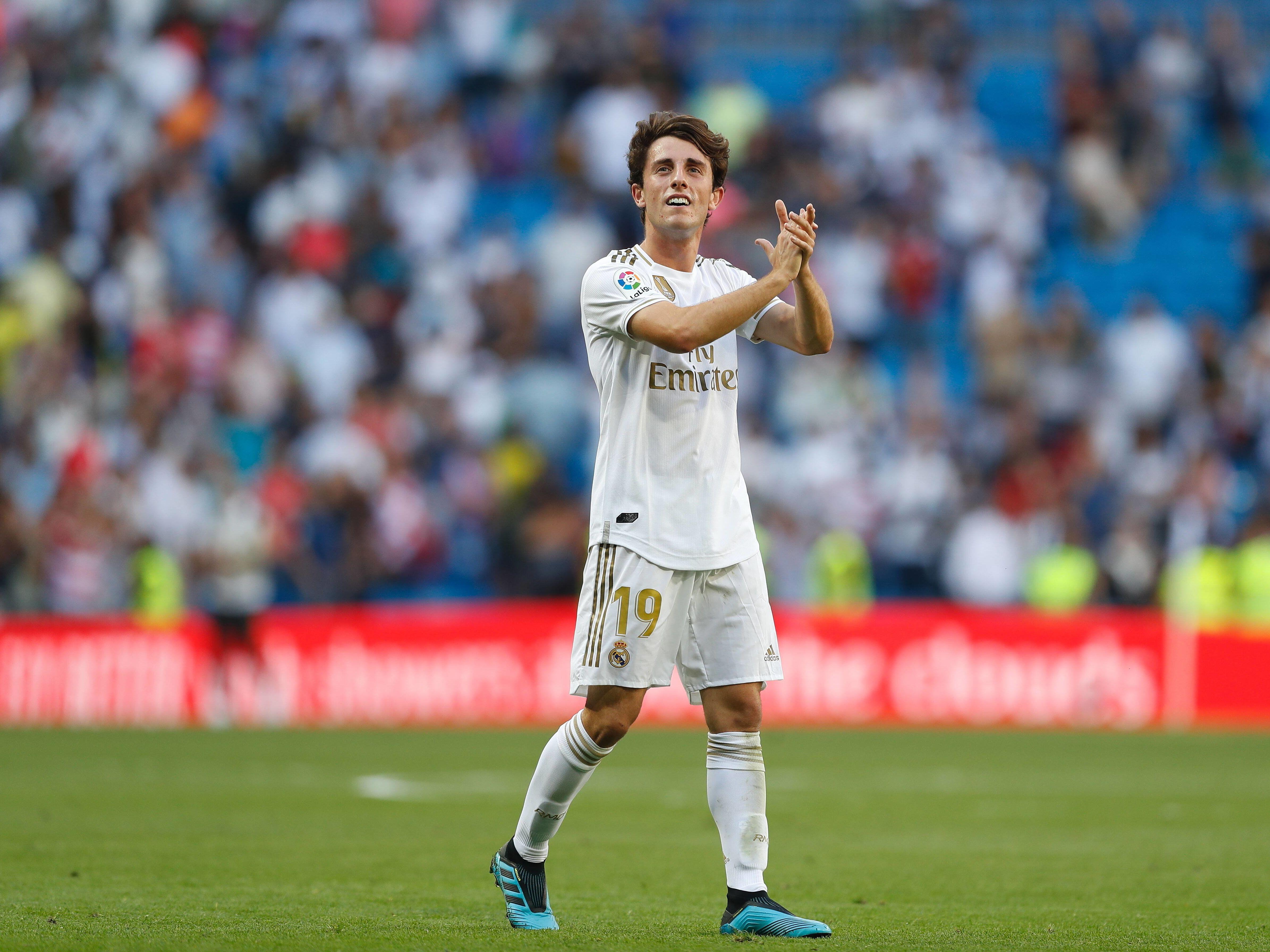 Alvaro Odriozola hat bei Real Madrid den Durchbruch nicht geschafft.