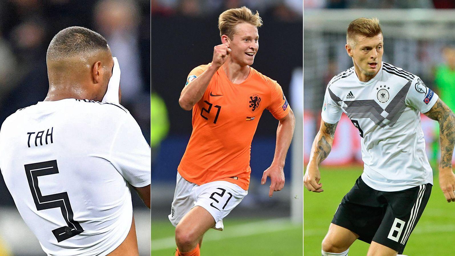 Einmal 6, zweimal 5: Die Noten zum Holland-Spiel - Nach dem 2:4 in Hamburg