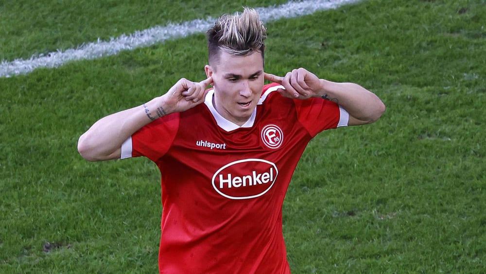 Der Oberschenkel: Für Fortuna Düsseldorfs Klaus wird es