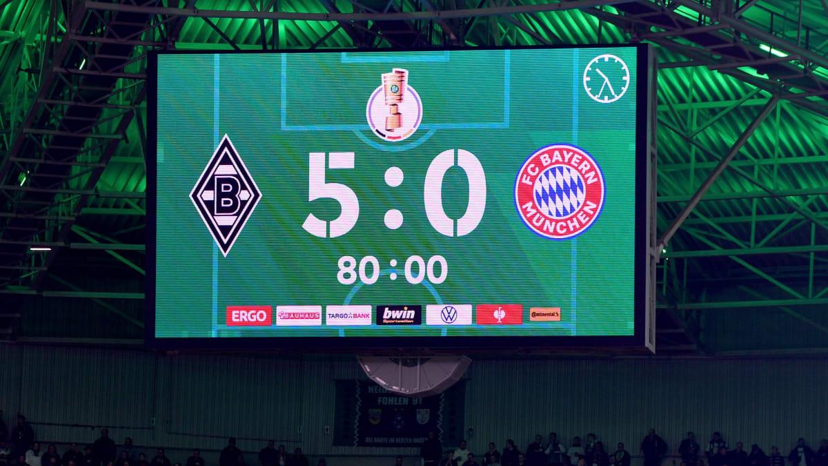 0:5, 0:7, 2:6: Bayerns historische Pleiten