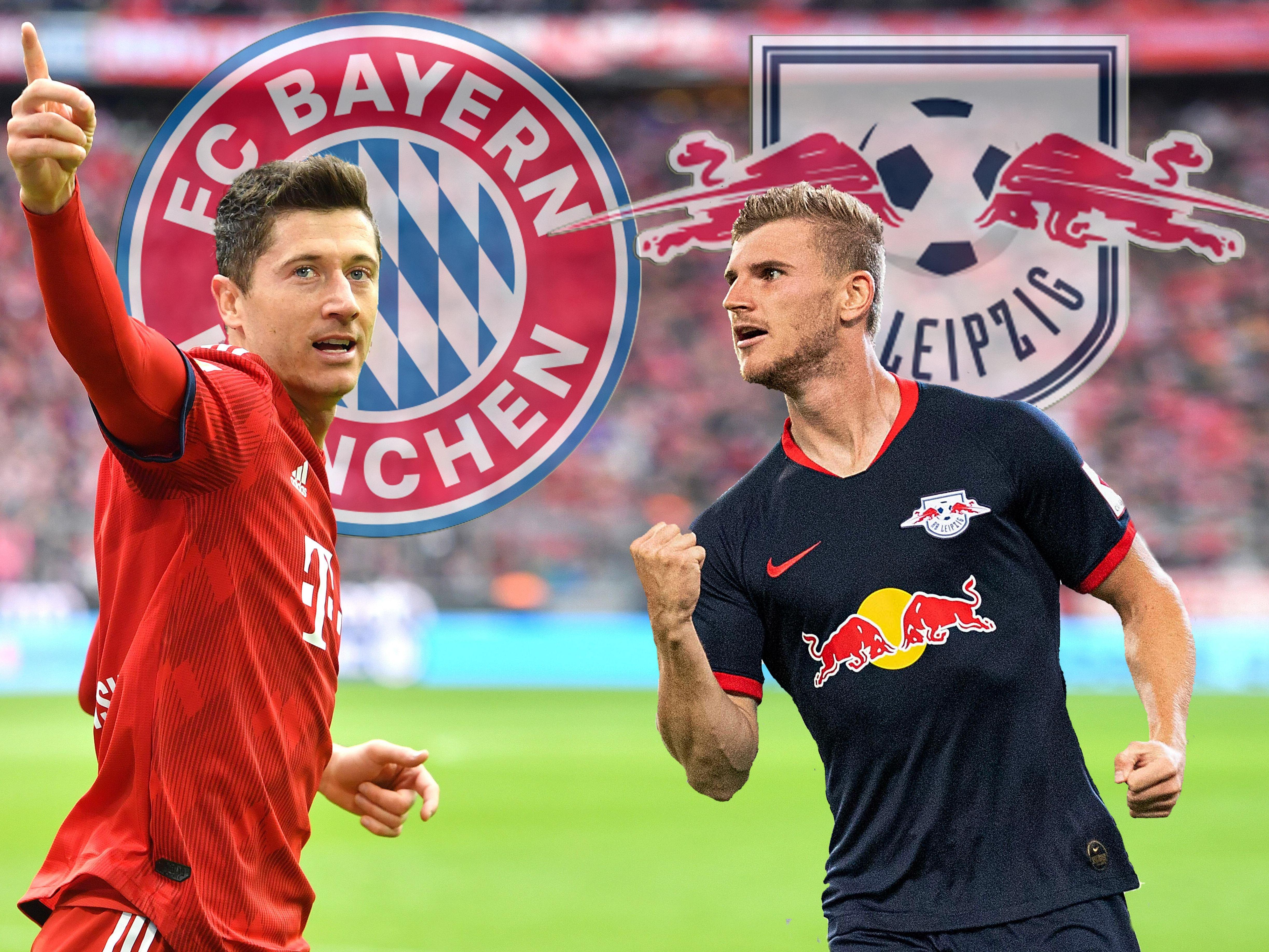 Robert Lewandowski und Timo Werner sind Top-Torjäger der Bundesliga.