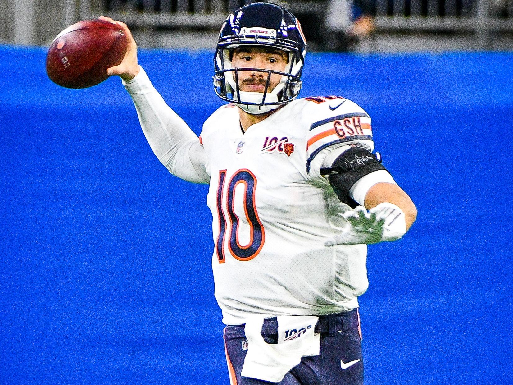 Mitchell Trubisky ist Quarterback bei den Chicago Bears.