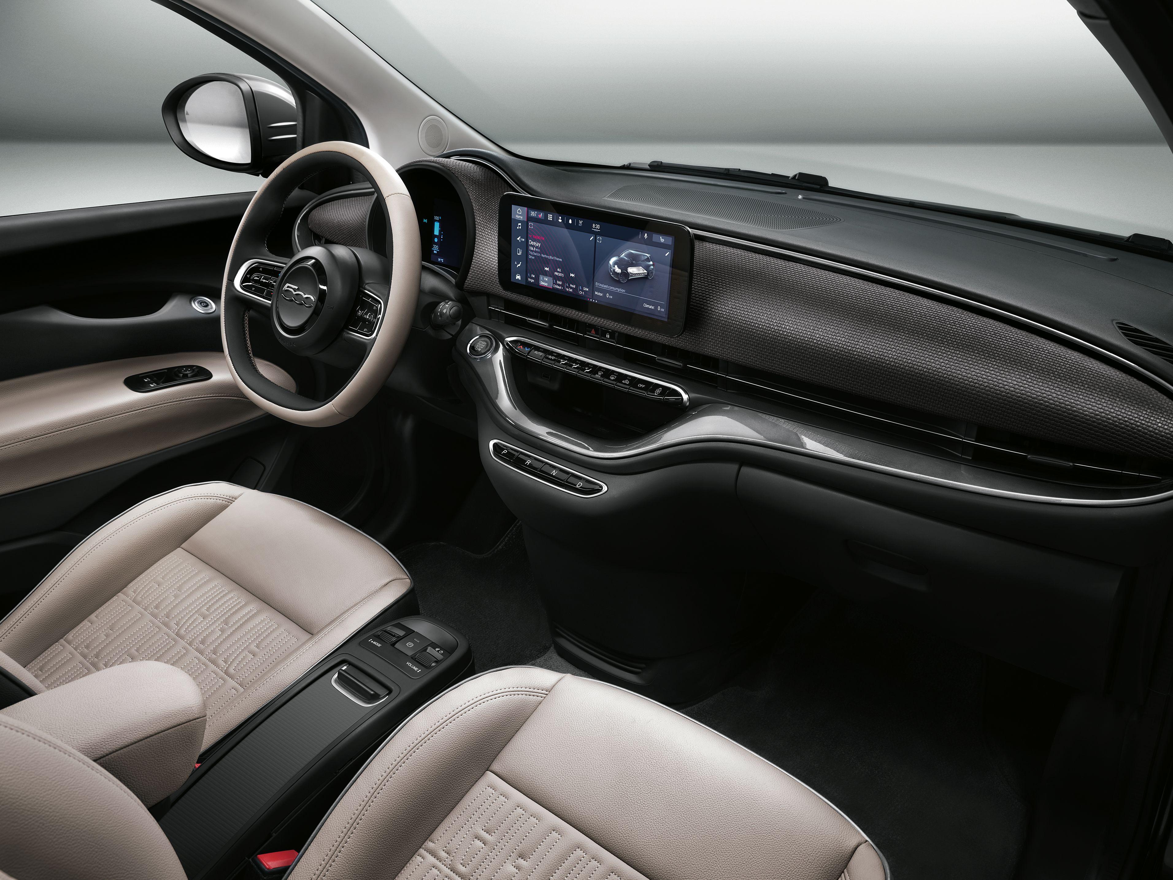 Fiat 500e Interieur