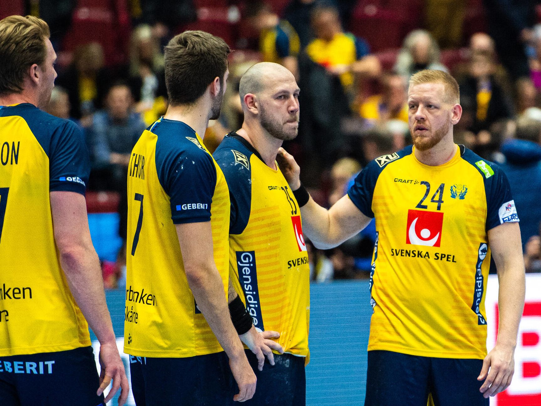 Schwedens Handballer unzufrieden