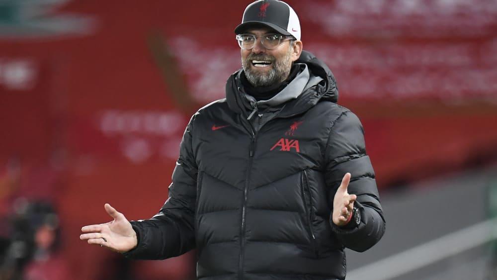 Für ihn und den Rest der Liga dürfte es schwerer werden, Spieler vom Festland zu verpflichten: LFC-Coach Jürgen Klopp.