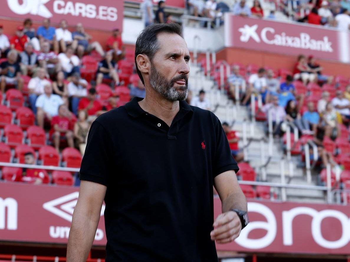 Mallorcas Macher: Trainer Vicente Moreno.