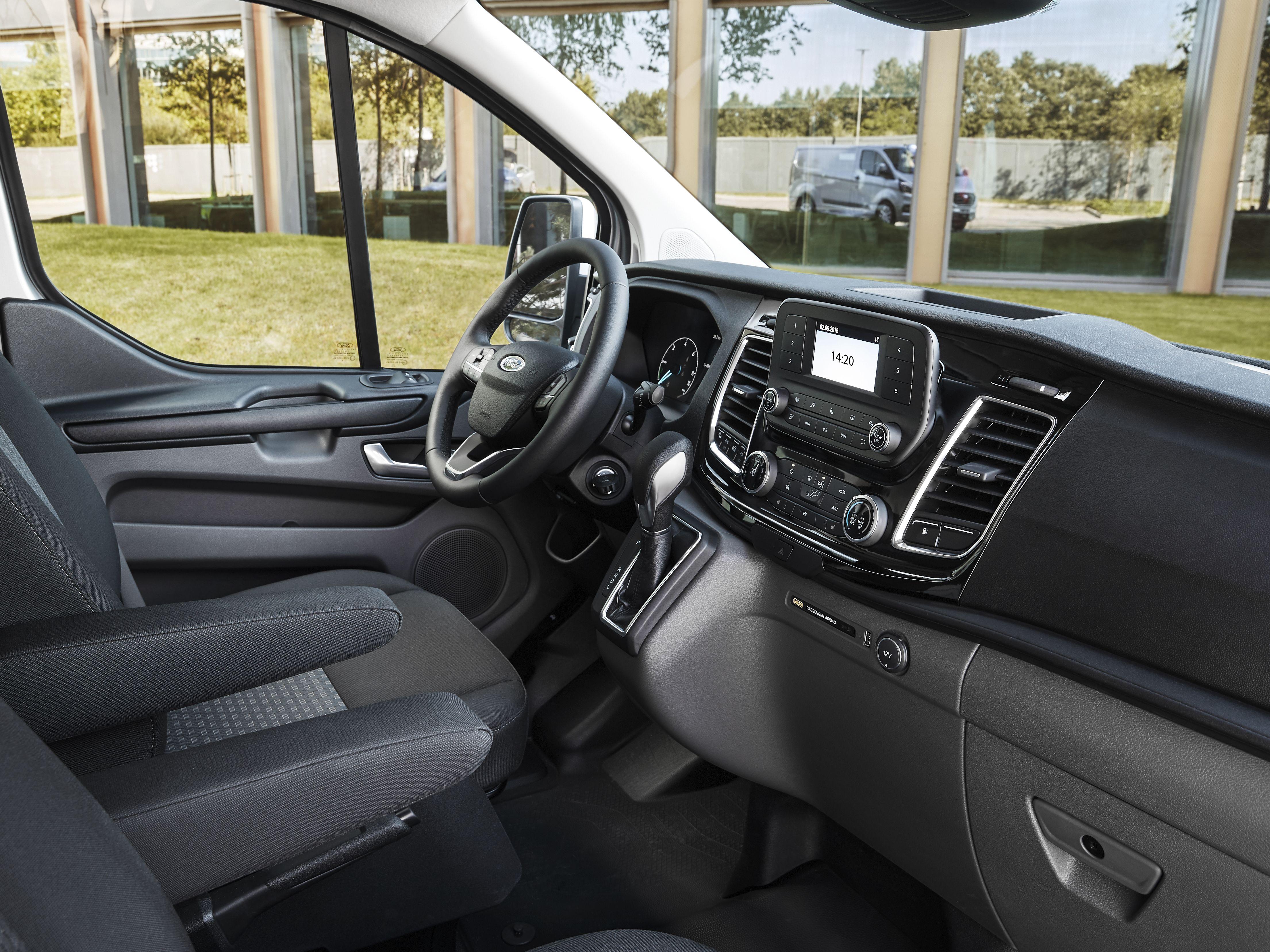 Ford Transit PHEV Cockpit