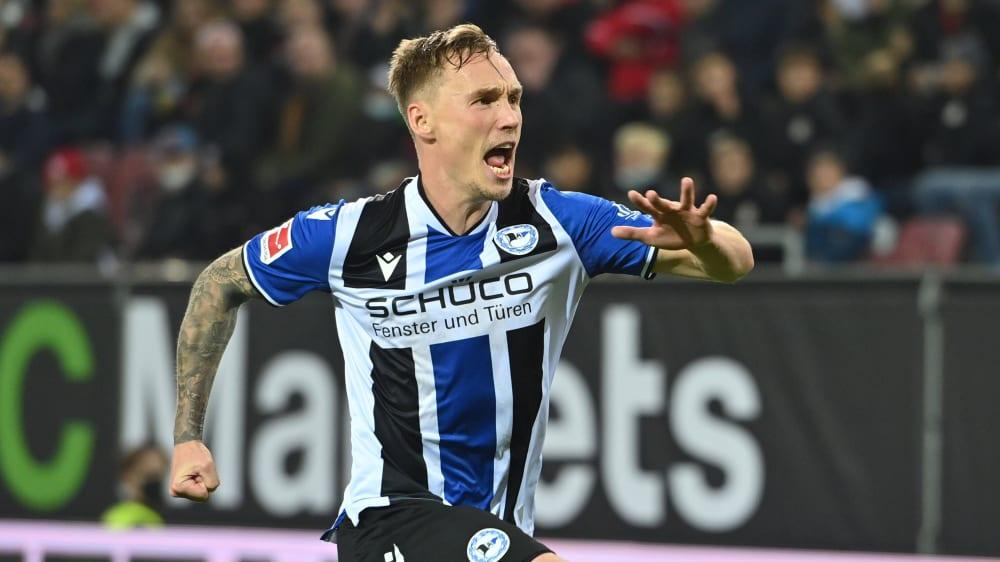 Arminia Bielefeld's points saver Laursen urgently warns