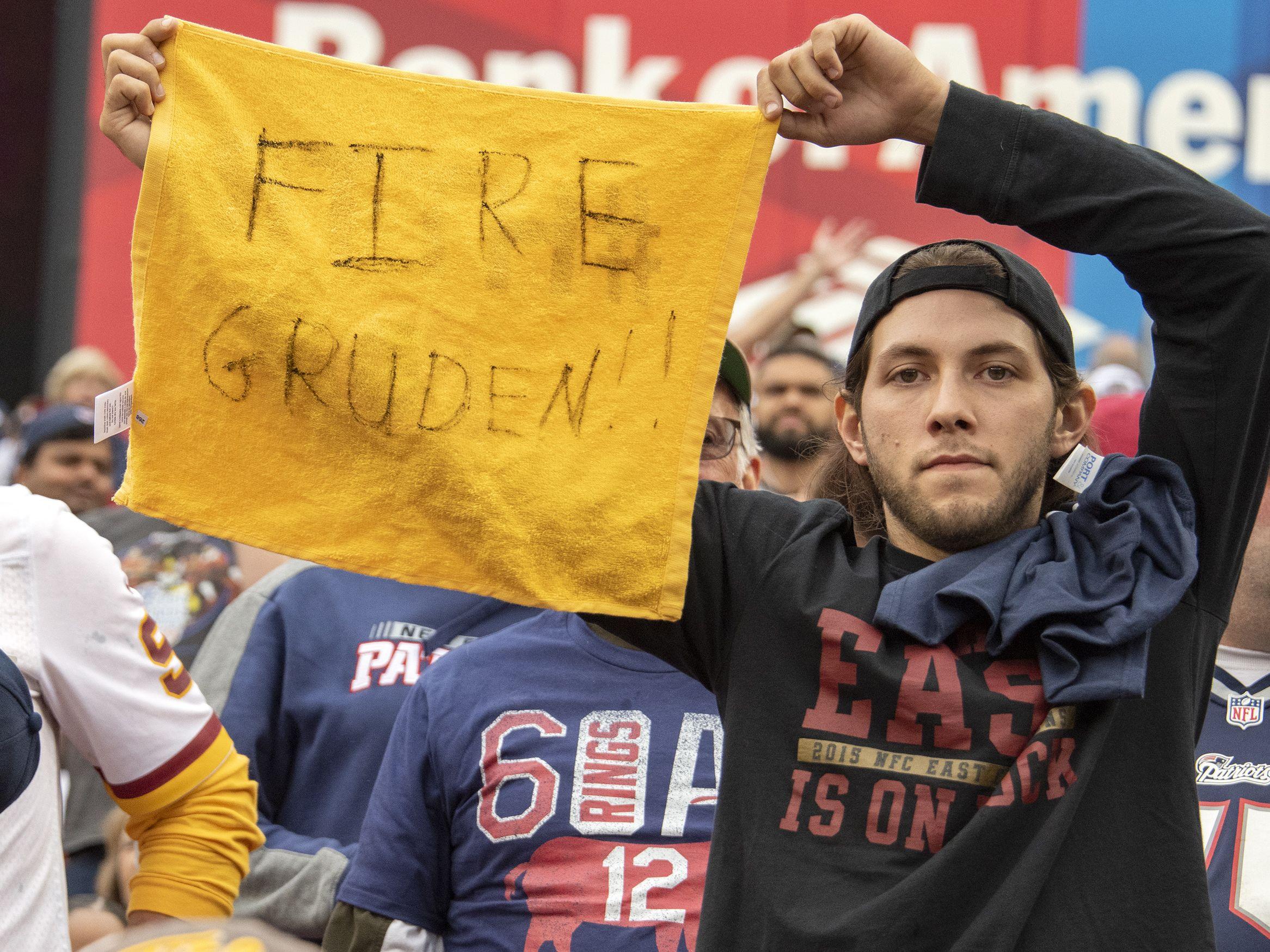Fan der Washington Redskins
