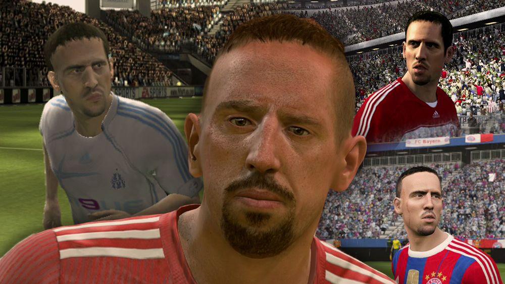 Legenden im Wandel der Zeit: Franck Ribery - eSport FIFA   Bildergalerie - kicker