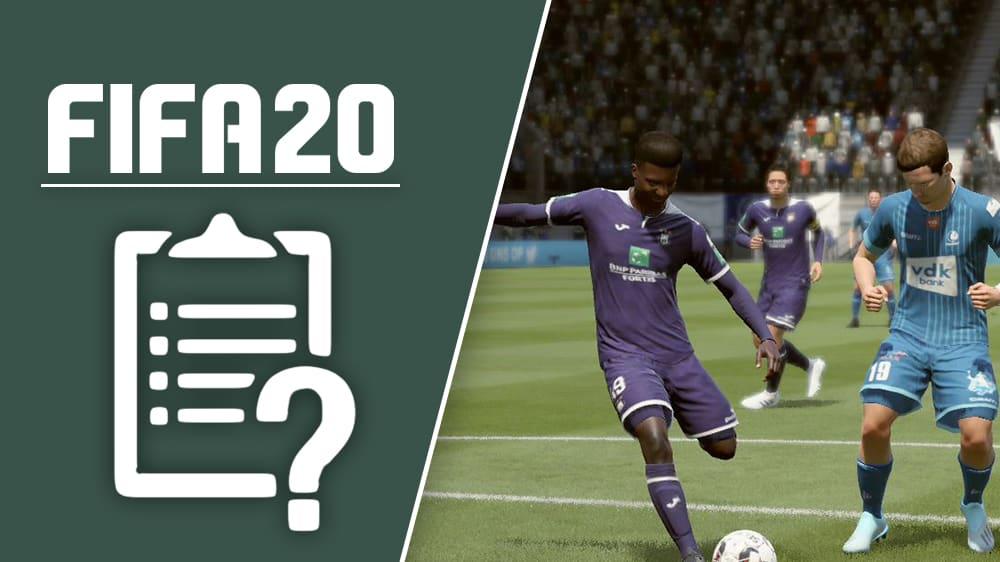 Das siebte Title Update für FIFA 20 ist erschienen.