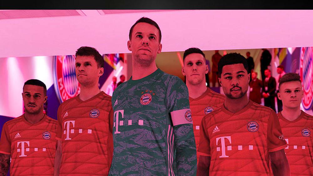 PES 2020: So sehen die Spieler des FC Bayern aus