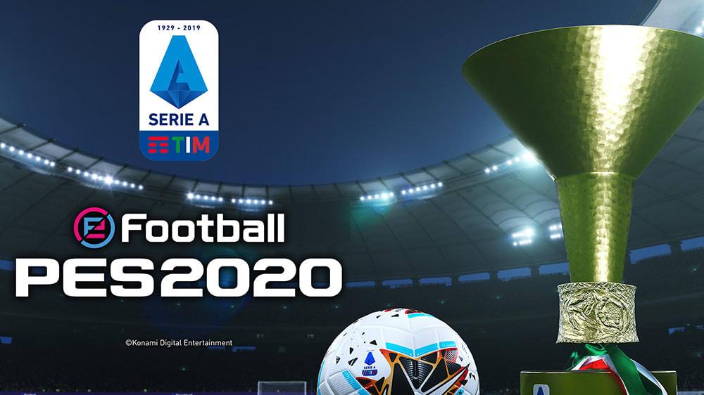 Logo und Pokal sind für eFootball PES 2020 lizenziert. Was ist mit den Vereinen