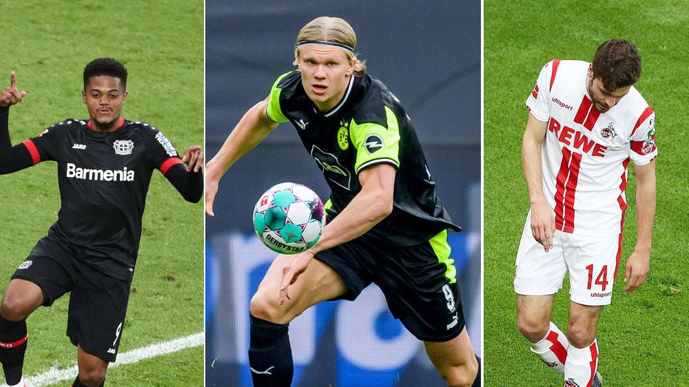 Haalands Nummer 7: Die kicker-Elf des 29. Spieltags