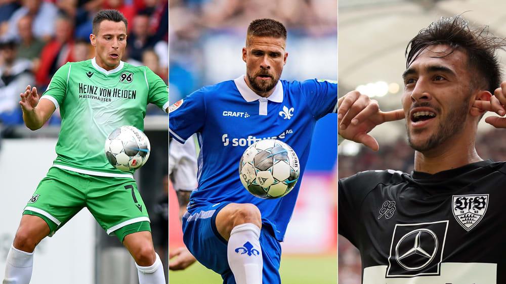 Gesichter des 4. Spieltags der 2. Bundesliga