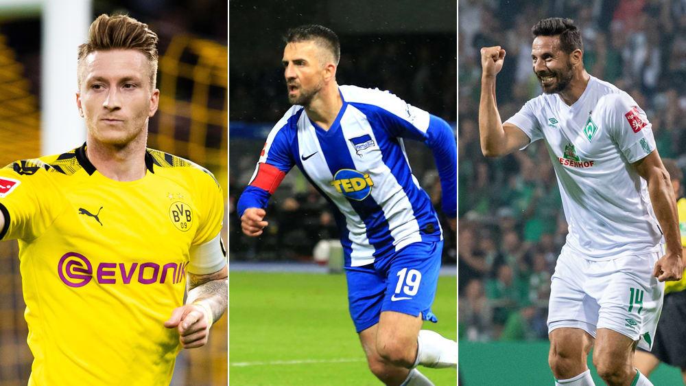 Reus, Ibisevic und Pizarro