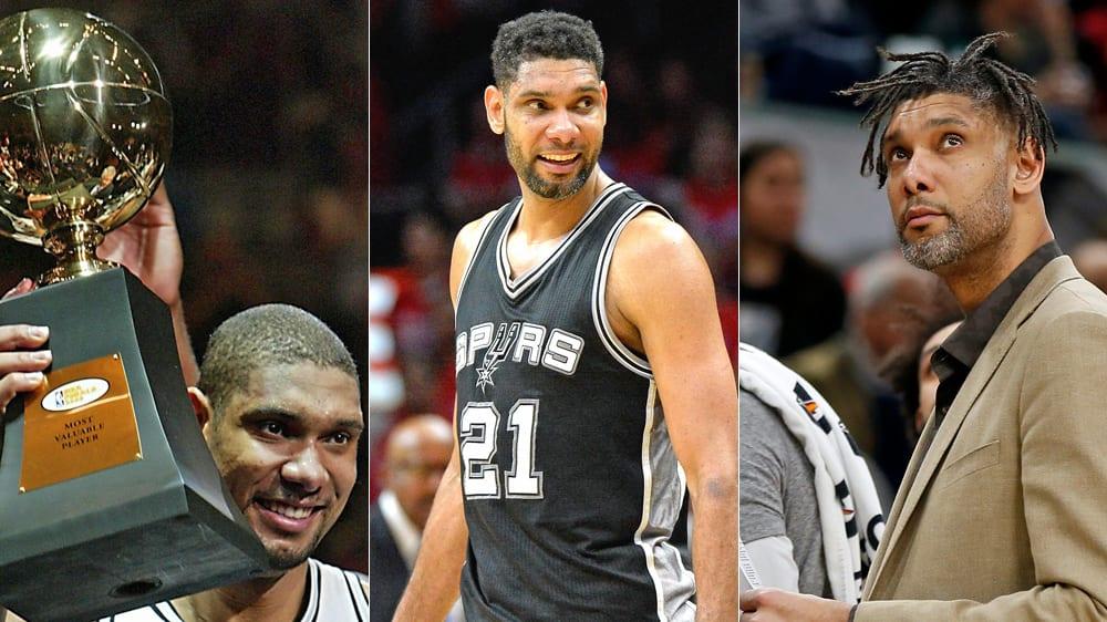 Tim Duncan hat in seiner Karriere fünf Meisterschaften mit den San Antonio Spurs geholt.